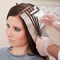 как красить волосы