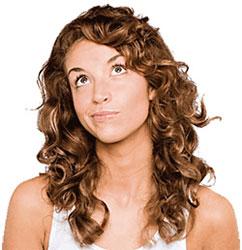 Как кудрявые волосы сделать прямыми