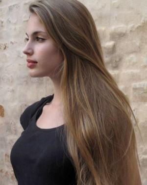 Цвет волос средне русый холодный