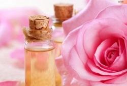 розовое масло для волос