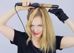 как накручивать волосы плойкой