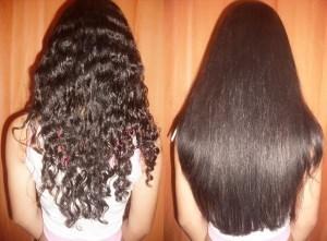 процедура кератирования волос