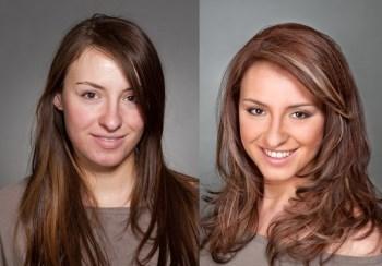 3д окрашивание волос